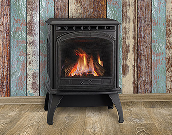 Quadra Fire Garnet-T Free Standing Gas Vented Wood Stove