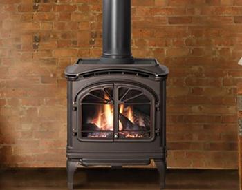 Heat & Glo Tiara Free Standing Gas Vent Stove