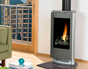 Heat & Glo Paloma Free Standing Gas Vented Stove