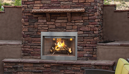 Superior Tuscan WE30 Outdoor Fireplace