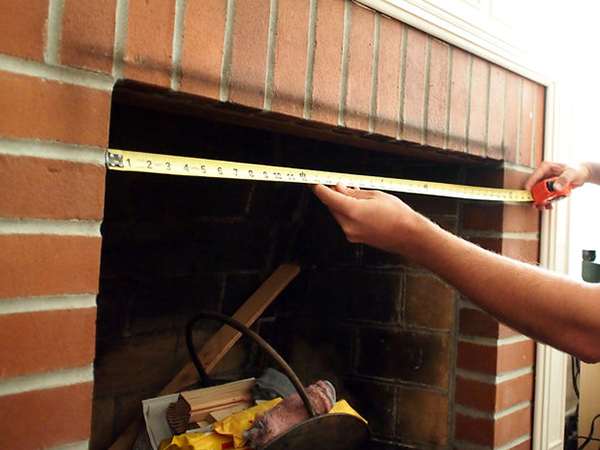 Measuring a Fireplace