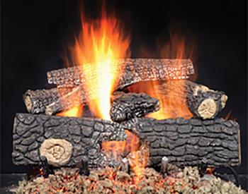 Heat & Glo Real Wood Gas Logs