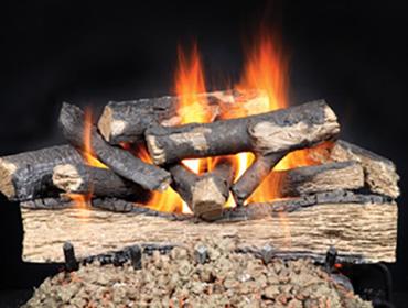 Heat & Glo Versawood Gas Log Set