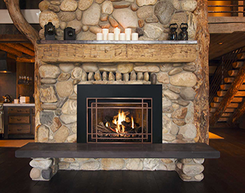 Mendota Gas Vented Fireplace 2