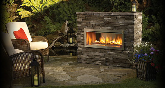 Regency HZO42-A Outdoor Fireplace