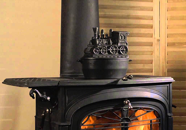 Steamer Kettle Wood Stove