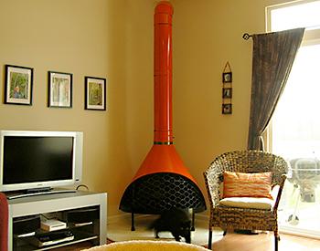 Malm Fireplace Cool