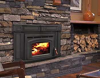 Enviro Cabello Wood Burning Fireplace Insert