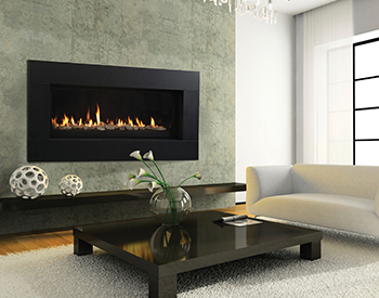 Heat & Glo Gas Fireplace Mezzo