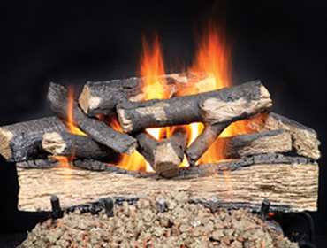 Heat & Glo Versawood Gas Log Set