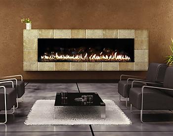 Stellar Gas Vent Fireplace