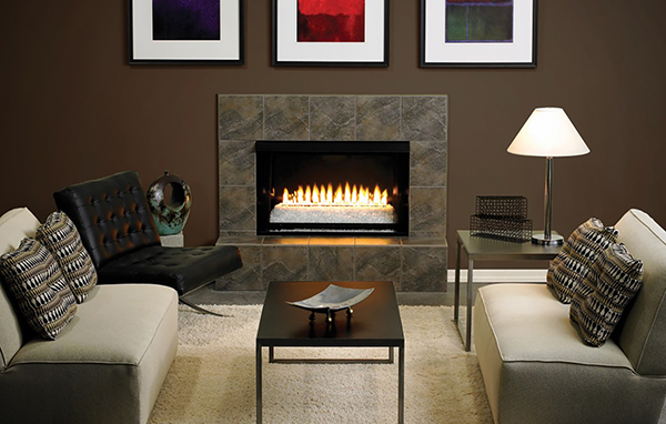 White Mountain Gas Vent Free Fireplace