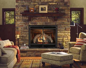 Heat & Glo Gas Fireplace 6000clx