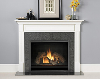 Heat & Glo Wood Mantel