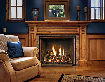 Mendota Gas Vented Fireplace 1