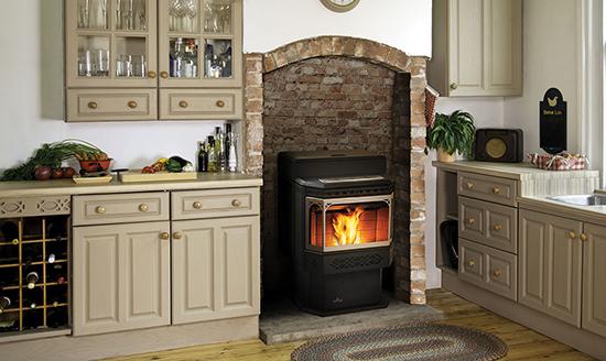 Pellet Fireplace Insert