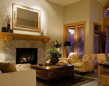 Quadrafire Gas Vented Fireplace Insert