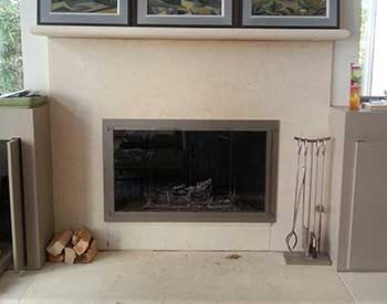 Stoll Stainless Fireplace Doors