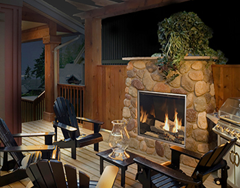 Town & Country TC36 Outdoor Fireplace