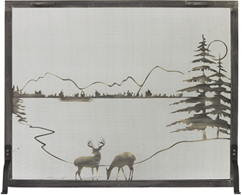 Stoll Deer Scene Screen