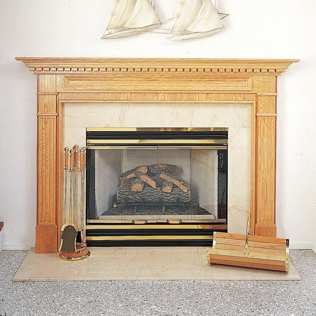 ALBERT Fireplace Mantel