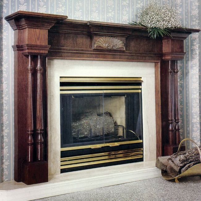LA-COLONN Fireplace Mantel