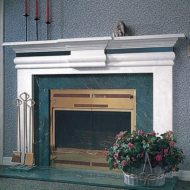 LA-MODERN Fireplace Mantel