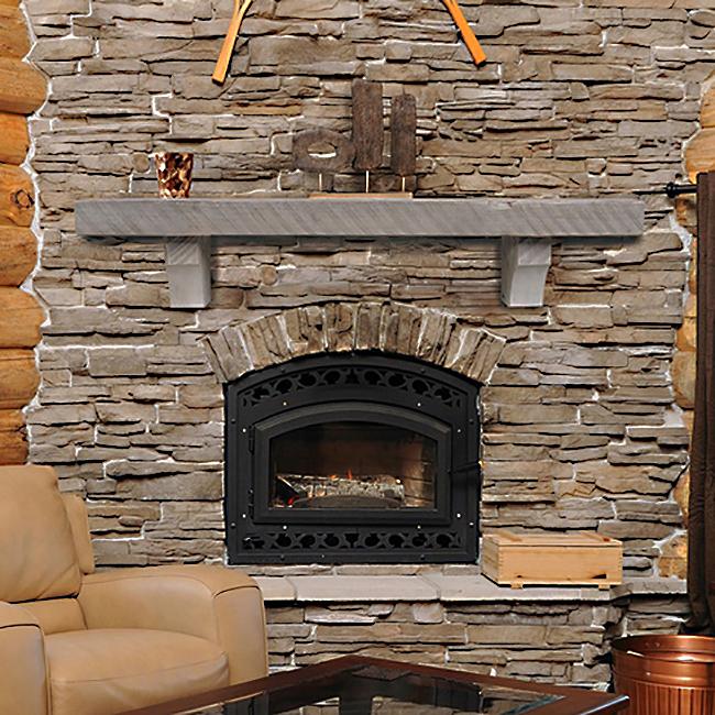 Pearl Mantels No. 870 Driftwood Finish