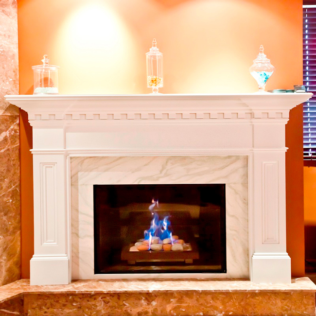 Taormin Fireplace Mantel