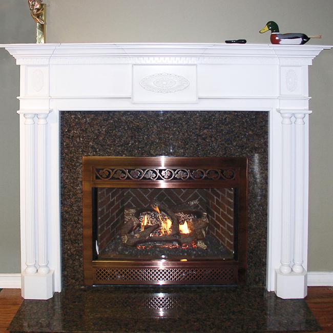 Vittori Fireplace Mantel