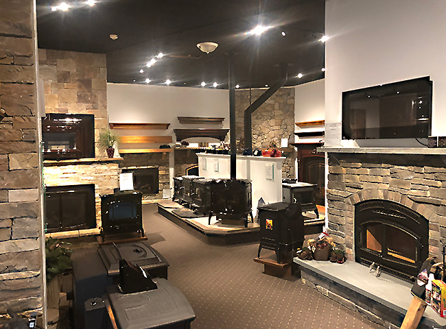 Our Showroom Main Street Stove And Fireplace 318 East